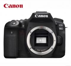 佳能(Canon)EOS 90D 单反相机 机身(3250万有效像素 双核CMOS 双核CMOS 45点十字对焦 WIFI/NFC)ZX.434