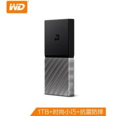 西部数据(WD)1TB Type-C移动硬盘 固态(PSSD) My Passport SSD (小巧便携 高速传输)WDBKVX0010PSL  PJ.733