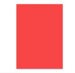 红色手工卡纸彩纸(100张一包)JX.237