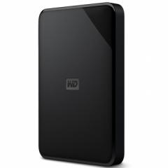 西部数据(WD)1TB USB3.0移动硬盘Elements SE 新元素系列2.5英寸 WDBEPK0010BBK PJ.711