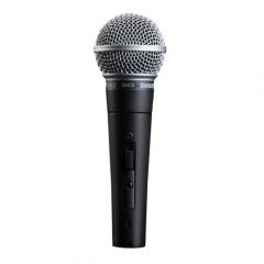 SHURE 舒尔 SM58S (有开关)专业演出人声有线动圈话筒 麦克风及连接线  IT.1273