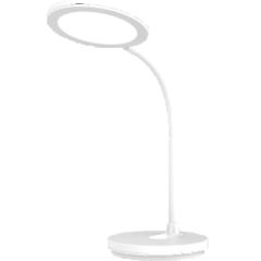 雅格led台灯 可充电折叠卧室 床头可调光usb学习灯 T403圆形光-经典白 DQ.1649