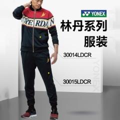 尤尼克斯YONEX羽毛球服新款运动休闲林丹男士长裤30015LDCR-007黑色O/XL码 TY.1268