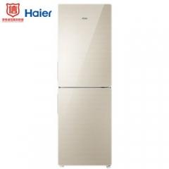 海尔(Haier)190升 风冷无霜两门冰箱 DEO净味保鲜 智能小型冰箱 两门彩晶玻璃 BCD-190WDCO DQ.1659