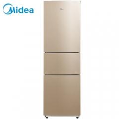 美的(Midea)213升 三门冰箱 节能静音 风冷无霜 家用冰箱 阳光米 BCD-213WTM(E) DQ.1663