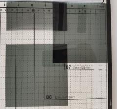 偏振片 马吕斯定律布儒斯特定律演示(三片套装)宽45cm可裁任意长  ZX.462