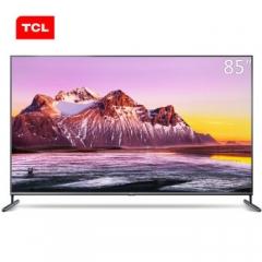TCL 85X6C 85英寸液晶电视机 4k超高清 全面屏 人工智能  DQ.1669