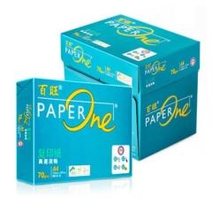 绿百旺 PAPERONE 复印纸 A4 70G 500张/包 8包/箱  BG.506