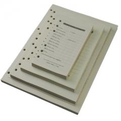 通用笔记本活页纸 替芯 内芯 6孔A5笔记本 米黄  BG.521