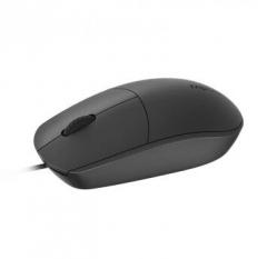 雷柏(Rapoo) N100 鼠标 有线鼠标 办公鼠标 对称鼠标 笔记本鼠标 电脑鼠标 台式机鼠标 黑色 PJ.740