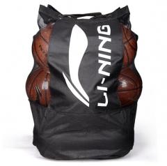 李宁LI-NING篮球包LBSK031-1 大号球袋足球排球训练专用收纳大网袋球包 TY.1317