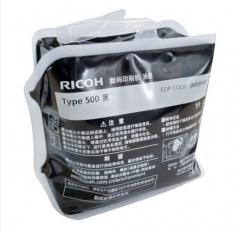 理光(Ricoh)500型(1000cc/袋*6袋)黑油墨 适用于DD5440C/DD5450C 单个 HC.1700