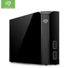 希捷(Seagate) 桌面移动硬盘 12TB USB Hub扩展坞 3.5英寸 大容量存储 STEL12000400 PJ.742