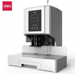得力(deli)600页升级款自动热熔铆管装订机 14666 BG.539