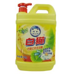 白猫(BAIMAO)洗洁精 2kg 柠檬红茶洗洁精 QJ.491
