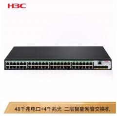 华三(H3C)S5048PV5-EI 48千兆电口+4千兆光全千兆智能网管企业级网络交换机 WL.811