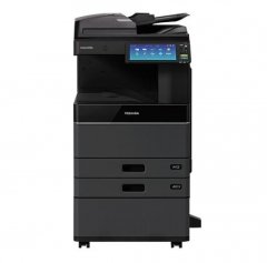 东芝(TOSHIBA)FC-2110AC多功能彩色复合机 A3激光双面打印复印扫描 主机+自动输稿器+双纸盒+工作台 FY.337