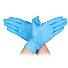 星宇 XINGYU E350一次性蓝色手套橡胶乳胶防滑丁腈手套 蓝色 M码 JC.1467