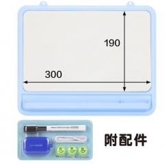 Nakabayashi 挂式磁性软白板涂鸦画板塑料软边记事留言板 32.5*27cm SWB-201 JX.246