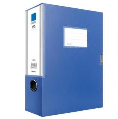 得力(deli) 5684 ABA系列A4/75mm档案盒 蓝色 单只装 BG.562