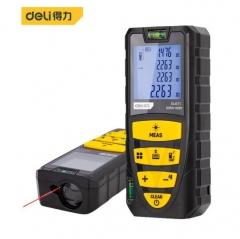 得力(deli) 手持式激光测距仪 高精度电子尺红外量房仪 测量仪电子尺100m卷尺 DL4171 JC.1586