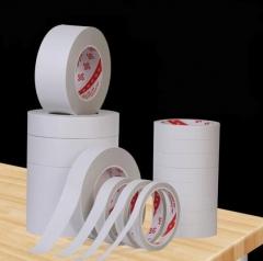 双面胶固定海棉强粘两面胶纸 半透明薄款很窄 宽5mm*50米(10卷)BG.568