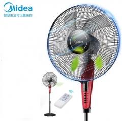 美的(Midea)五叶落地扇大风量立式电风扇节能科技风电扇遥控定时风扇 FS40-13ER DQ.1717