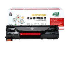 莱盛 LS-CE278A黑色粉盒适用HP LJ-P1566/P1606/M1536 HC.1736
