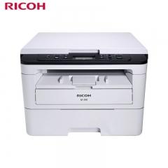 理光激光一体机M340 A4黑白激光 双面打印复印扫描 34页/分白色 DY.352
