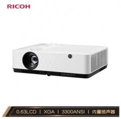 理光(RICOH)PJ-YX2000投影仪 商务办公投影机(标清XGA 3300流明 HDMI高清接口)IT.1389