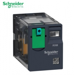 施耐德电气 RXM·C 小型 10A 2C/O 带灯 24VDC RXM2CB2BD 中间继电器 JC.1595