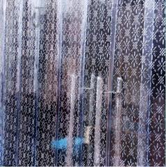 塑料门帘子夏季空调透明门帘pvc隔断软帘 夏季透气门帘 单位:平米 BC.196