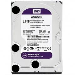 西部数据硬盘SATA接口 3TB WD30PURX PJ.798