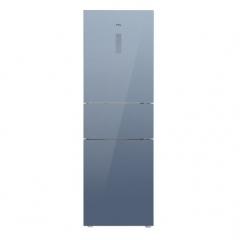 TCL260升一级双变频风冷无霜电冰箱 三门三温区 AAT养鲜 节能低音 260P6-C星云蓝 DQ.1724