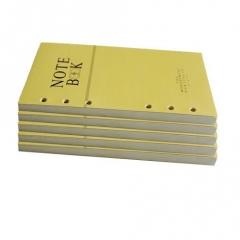 信发(TRNFA)6孔A6横线 笔记本内芯 记事本活页替换芯 80克米黄色纸芯5本装 BG.582