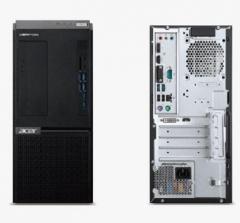 宏碁(acer)Veriton D650 1150 台式计算机 G5905/B460/4G/1T/集成/无光驱 PC.2364