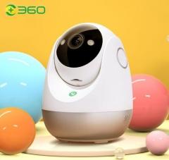 360 智能摄像头 2.5K云台版400万网络wifi高清昼夜全彩双向通话360度旋转 云台7C超清版 PJ.809
