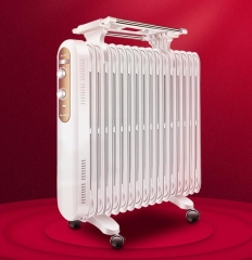 格力(GREE)电油汀取暖器 电暖片 节能暖风机 干衣加湿暖气片 17片3000W油汀 NDY19-S6130 DQ.1728