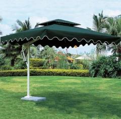 遮阳伞户外休闲阳台 2.1米方形伞配40kg底座 JC.1629