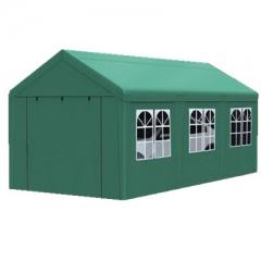户外防晒遮阳蓬 绿色 长10米*宽5米带围布 JC.1632