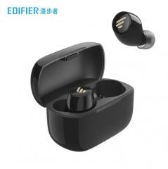 漫步者(EDIFIER)TWS1 真无线蓝牙耳机 迷你隐形运动手机耳机 黑色 PJ.812
