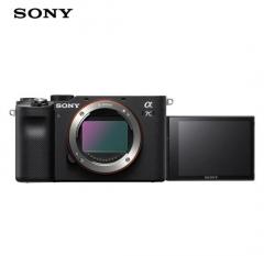 索尼(SONY)Alpha 7CL 全画幅微单数码相机 黑色 单机身 ZX.496