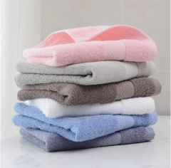 洁丽雅(Grace)毛巾 A类纯棉吸水素色柔软洁面巾擦脸巾 单条装 70*34cm 90g JC.1633