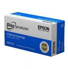 爱普生(EPSON)PJIC1 青色墨盒 (适用PP-100III/100N/50II系列光盘印刷刻录机) C13S020447 HC.1789