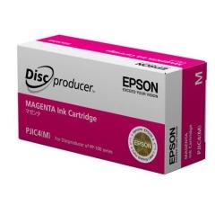 爱普生(EPSON)PJIC4 洋红色墨盒(适用PP-100III/100N/50II系列光盘印刷刻录机) C13S020450 HC.1790