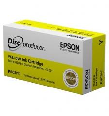 爱普生(EPSON)PJIC5 黄色墨盒(适用PP-100III/100N/50II系列光盘印刷刻录机) C13S020451 HC.1788