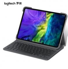 罗技(Logitech)Slim Folio Pro ipad蓝牙键盘保护套 IK1174适配11英寸 ipadpro 一二代 PJ.827