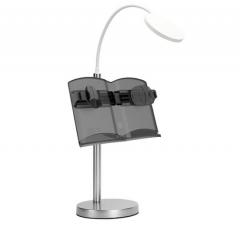猫太子(MAOTAIZI)无级调节台灯桌面五金阅读架学生成人看书架简约懒人书型立式桌面放书支架 DQ.1650