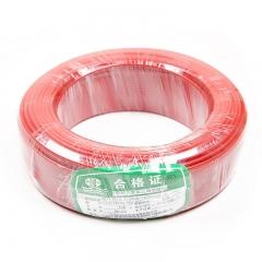 江北 ZR-BV 1×2.5平方毫米 阻燃铜芯聚氯乙烯绝缘电线 红 100米/盘