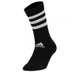 阿迪达斯 ADIDAS 男女 配件系列 3S CSH CRW3P 运动 袜子 DZ9347 S码